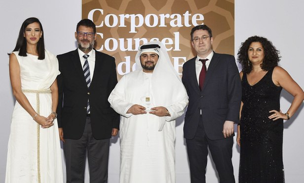 Corporate Counsel Middle East Awards Corporate Team of the Year: Galadari