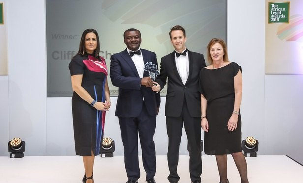 Clifford Chance, Anjarwalla & Khanna and Standard Chartered triumph at the African Legal Awards 2016