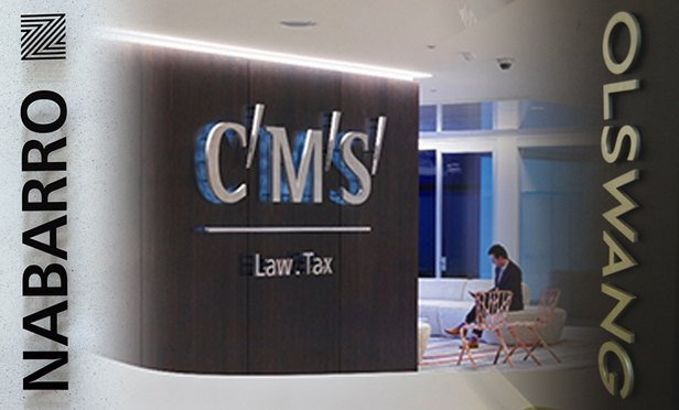 CMS makes up 48 to partnership in first joint promotions with Nabarro and Olswang
