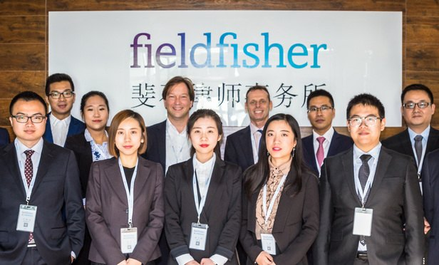 Fieldfisher-China-merger