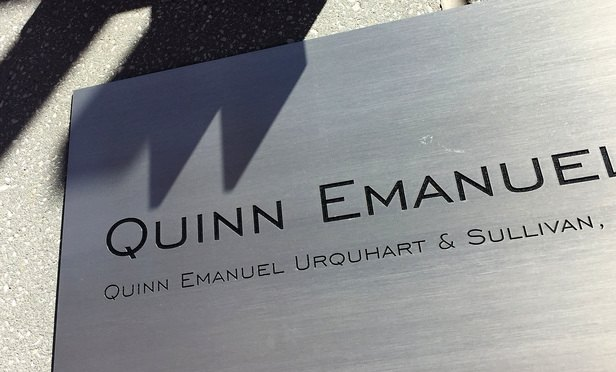 Spat erupts between Quinn Emanuel and plaintiffs firms over foreign exchange manipulation litigation