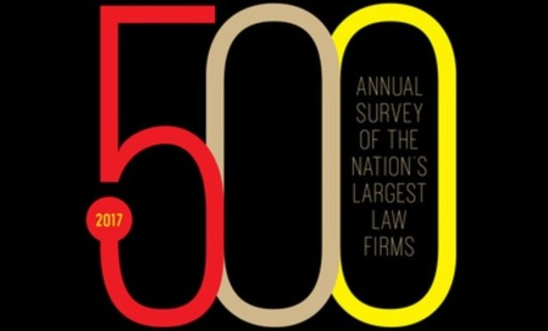 The 2017 NLJ 500: ranking America's 500 largest law firms