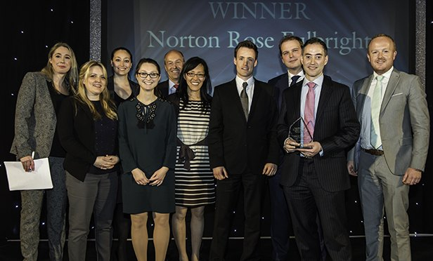 Norton Rose Fulbright winners