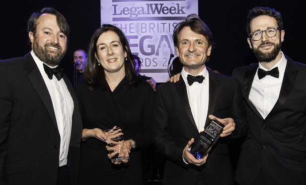7. Legal Week Intelligence Client Partner of the Year-Article-201612131707
