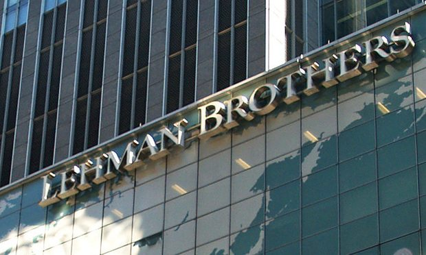 A September to remember: lawyers in the eye of the storm look back on the fall of Lehman